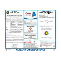 Alabama Labor Law Poster