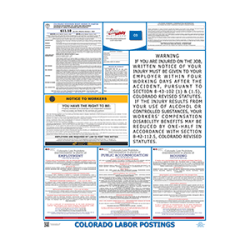 Colorado Labor Law Poster