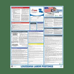 Louisiana Labor Law Poster