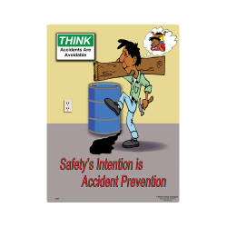 Accident Prevention Safety Poster