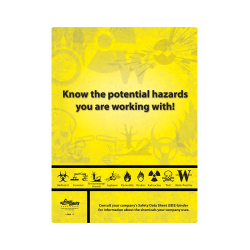 Know Your Chemicals Poster
