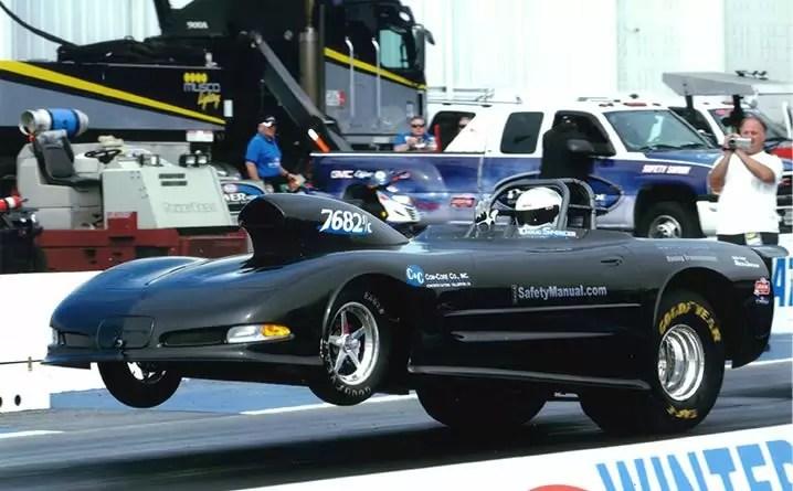 Race Car on the line