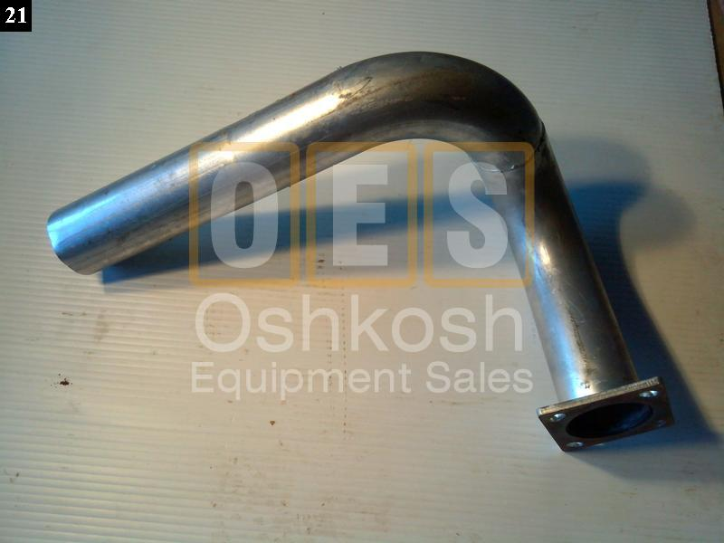 exhaust j pipe oshkosh equipment