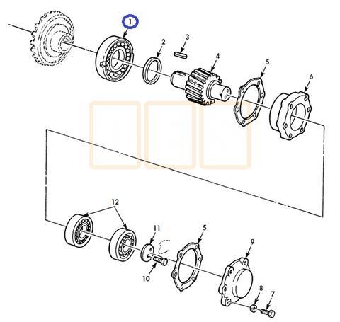 Drivetrain Parts, Driveshafts, U-joints, and Drive Axle