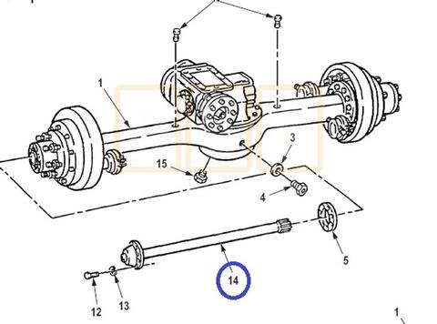 Drivetrain Parts, Driveshafts, U-joints, and Drive Axle