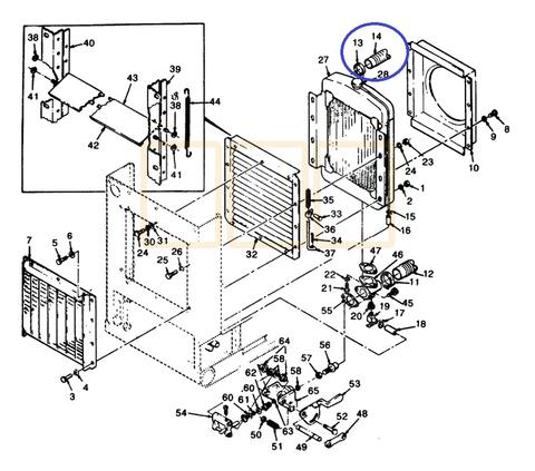 Cooling System, Water Pump, Radiator, Thermostat, Block