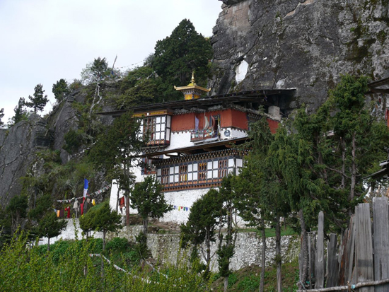 The rocks where Padmasambhava meditated