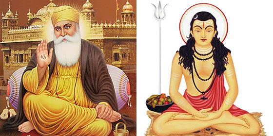 Guru Nanak and Goraknath