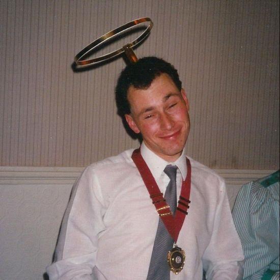 1990 June President at K&R Rotact Charter Dinner