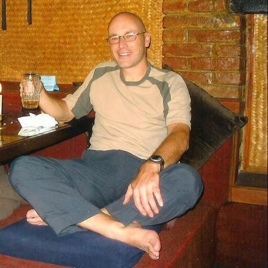 2004 Oct Kathmandu - last beer before the trek