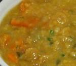 Sahaja's Signature Red Lentil Soup