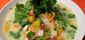 Carrot and Watercress Soup