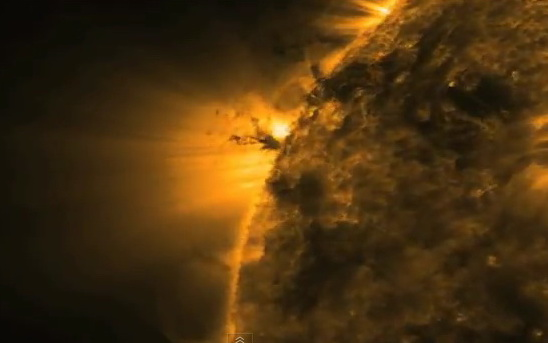 sun tornado captured by nasa - photo #18
