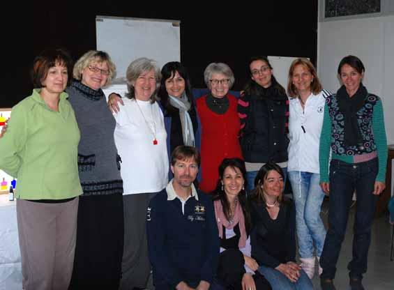 An Aura-Soma class in Grenoble