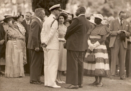 Queen Elizabeth in Kenya 1952