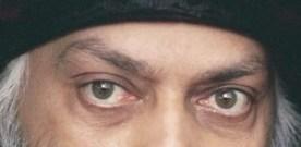 Eyes Emit Light