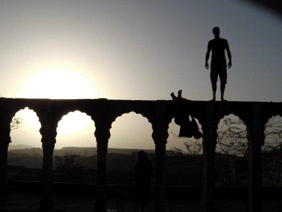 At Jodhpur (Rajasthan)