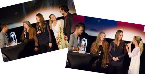 Satya Puja - Diana Richardson award ceremony