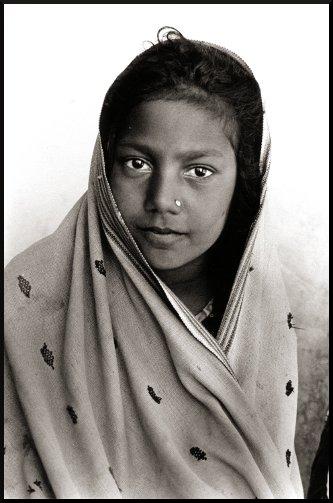 Zura Village Girl, Kutch