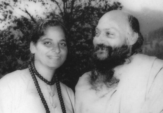 Jyoti and Osho in Manali, 1970