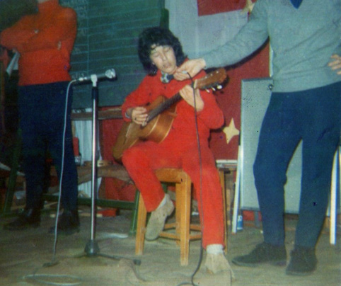 Singing contest in Switzerland at 16 yrs old