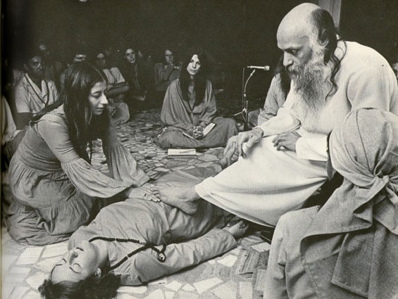 Radha and Osho