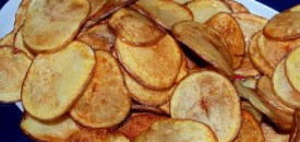 Home-made Potato Chips
