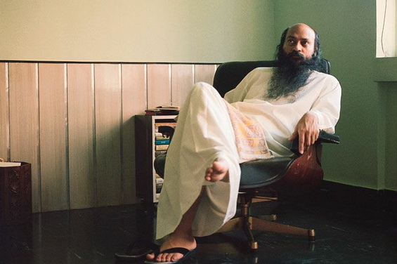 Osho sitting Woodlands