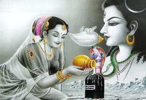 Shiva and Parvati