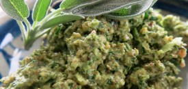 Sage and Watercress Pesto