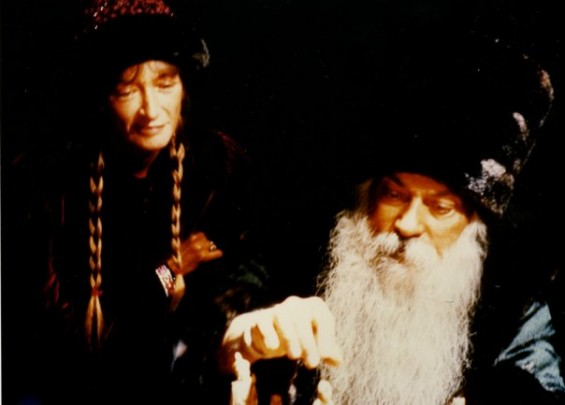 Osho with Nirvano