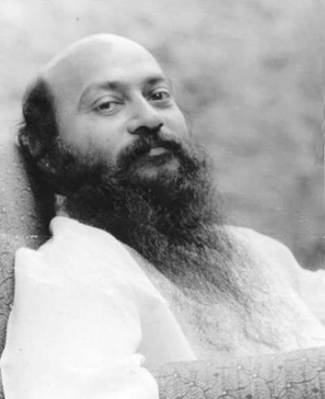 Osho in Armchair