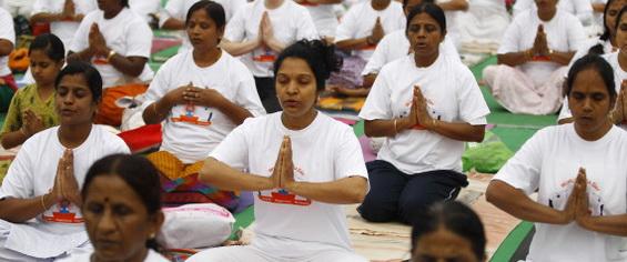 India World Yoga Day