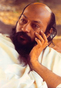 Osho Looking to Side