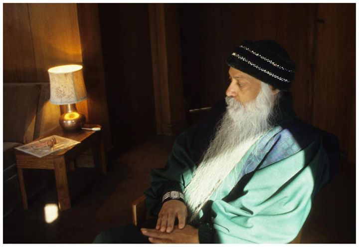Osho in Room