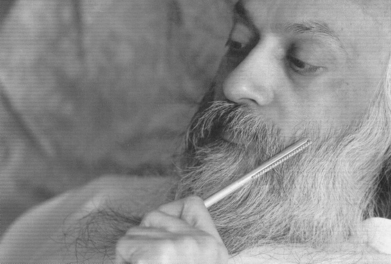 Osho with pen