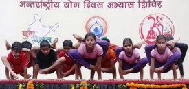 Thousands of Indians Prepare for International Yoga Day