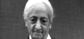 Krishnamurti on Programming and Conditioning
