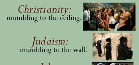 The Difference between the three Abrahamic Religions