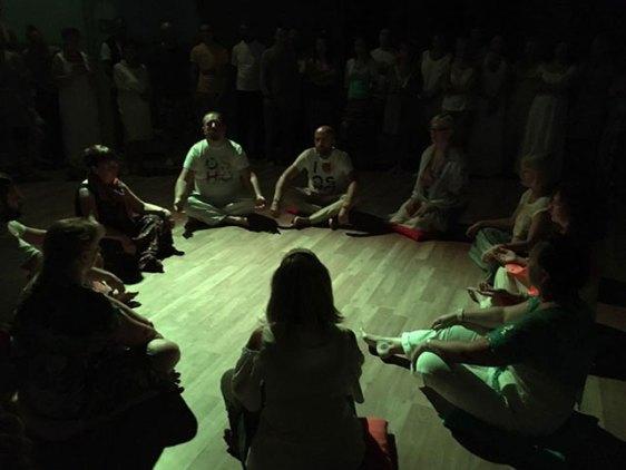 Sannyas initiation