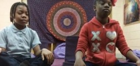 Elementary School has Kids Meditate Instead of Punishment
