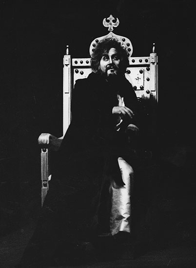Kavi as Czar in 'Boris Godunov'