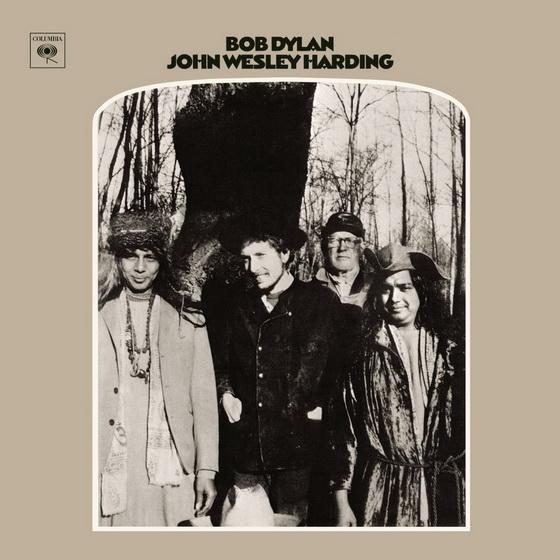 Bob Dylan JOHN WESLEY HARDING cover 1967