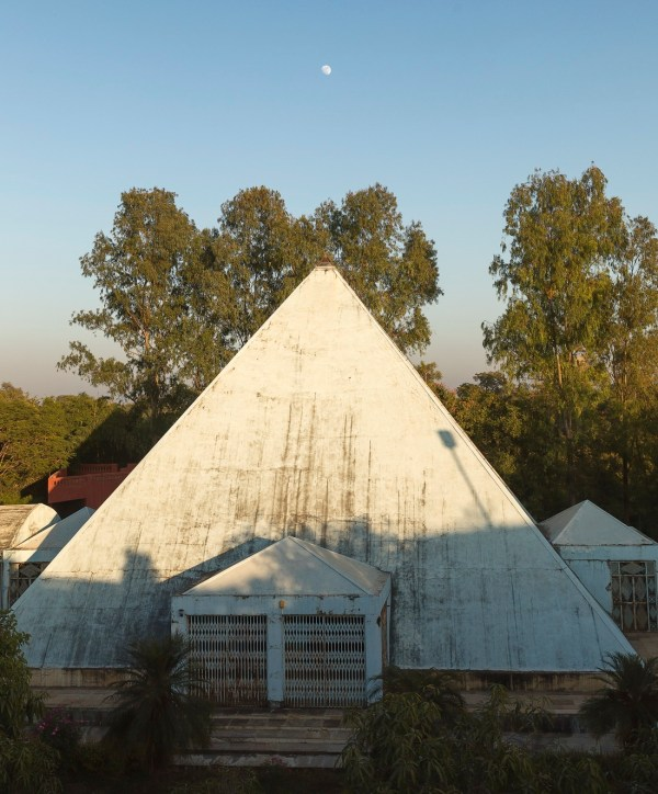 Meditation Pyramid at Osho Tirth