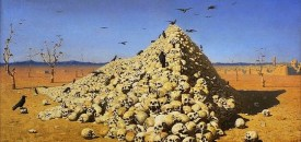 Bayazid came upon a heap of skulls