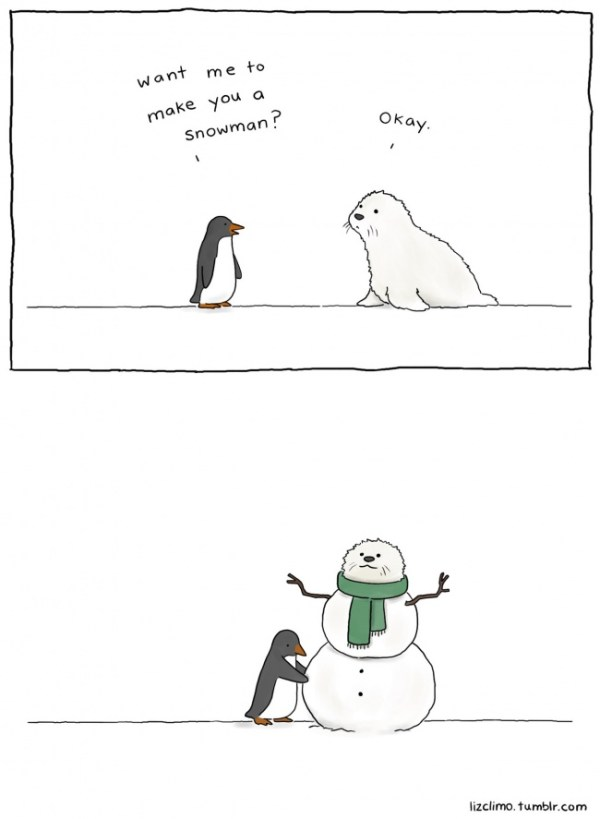 Snowman by Liz Climo