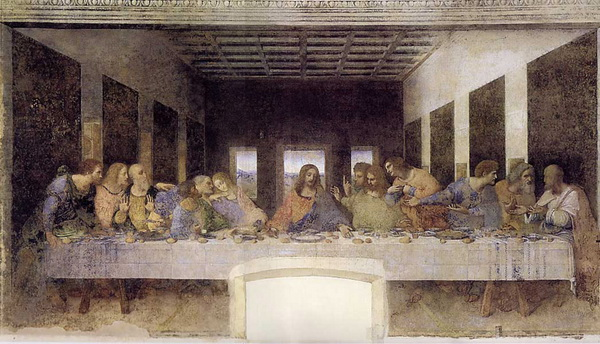 The Last Supper (restored)