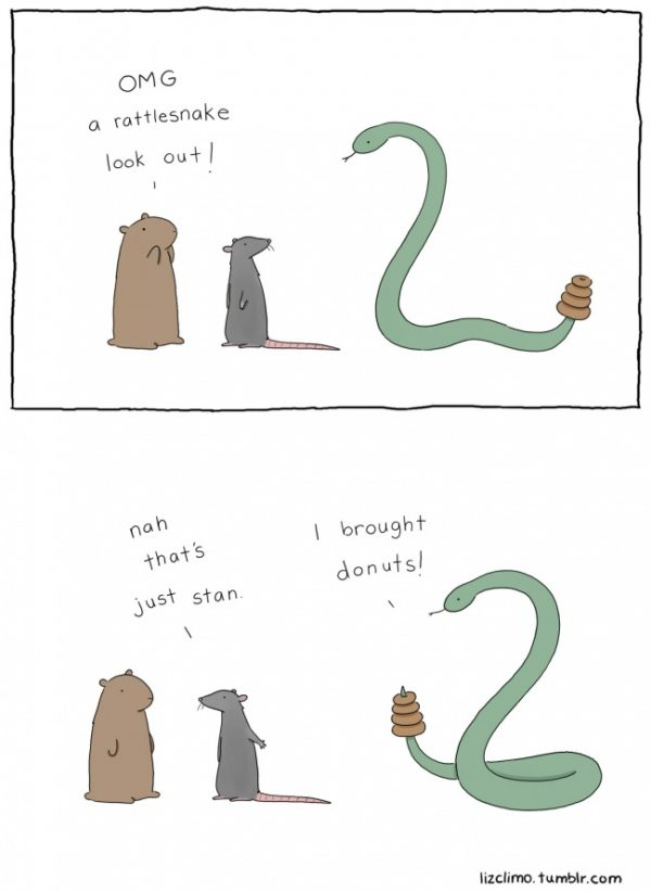 Rattlesnake and his friends