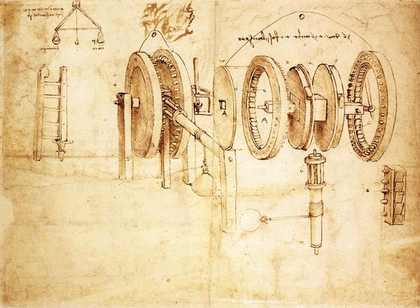Robot design drawing