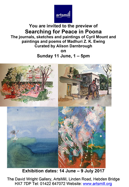 Searching-for-Peace-in-Poona-Exhibition-preview-invite